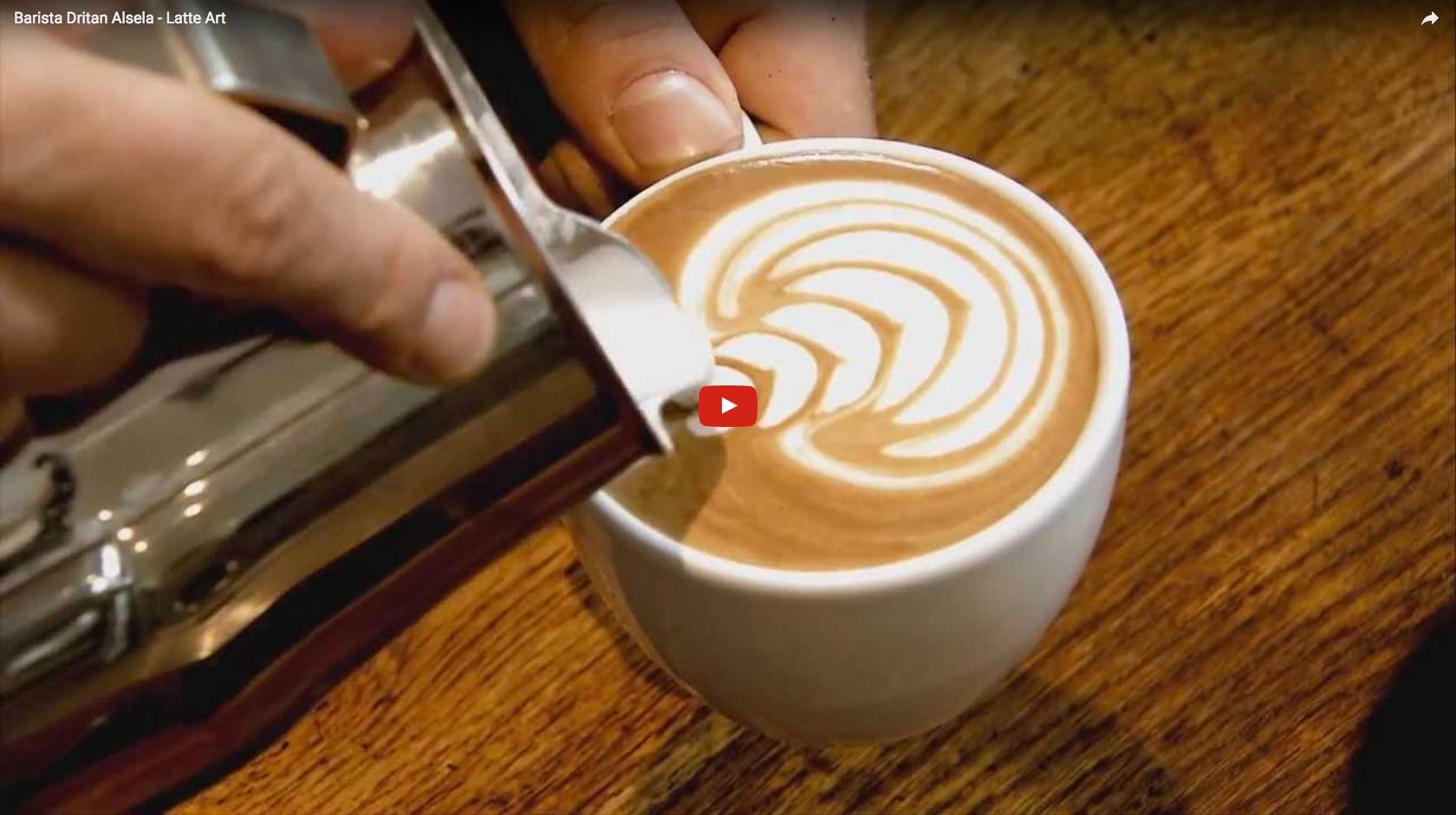 Hoe maak je mooie latte art